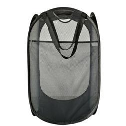Foldable Portable Washing Clothes Laundry Basket Bag Bin Ham