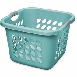 Sterilite 1.5 Bushel Square Ultra Laundry Basket, Teal Splas