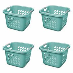 Sterilite 1.5 Bushel Ultra Square Laundry Basket Teal Splash