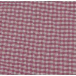 Redmon 3111PK Rectangular Willow Hamper Cloth Liner - Pink N