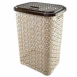 60 Liter Hollow Design Clothes Hamper Laundry Basket, Made I