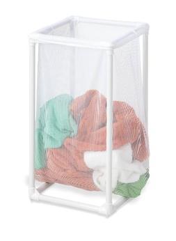 Honey-Can-Do 1 Bag Mesh Laundry Hamper