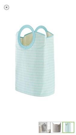 Sonoma Aqua Arrow Tote or Convertible Standing Laundry Hampe