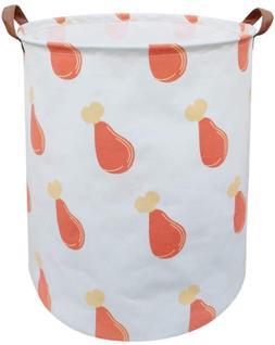 Asketam Laundry Basket,Canvas Fabric Laundry Hamper,Dirty Cl