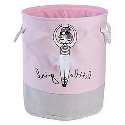 Baby Girls Kids Toy Storage Basket Bin laamei Ballerina Cott