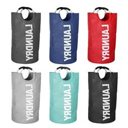 Laundry Bag Waterproof Laundry Hamper Collapsible Clothes Ba
