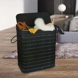 Black Laundry Basket Dirty Cloth Hamper Laundry Hamper with