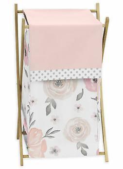 Sweet Jojo Designs Blush Pink, Grey and White Baby Kid Cloth