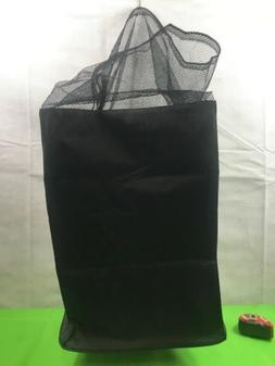 Canvas Laundry Hamper with Draw String 13x13x32 New Free Shi
