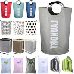 collapsible laundry bag hamper storage clothes washing
