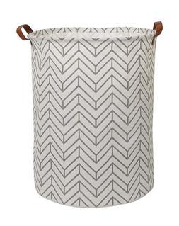 CLOCOR Collapsible Round Storage Bin/Large Basket/Clothes La