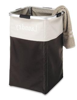 Whitmor Easycare Laundry Hamper, Espresso