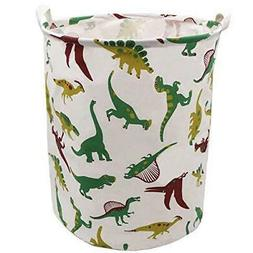 Extra Large Laundry Hamper 19.7x15.7 Inch, ZUEXT Cotton Canv