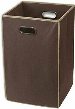 Simple Houseware Foldable Closet Laundry Hamper Basket for C