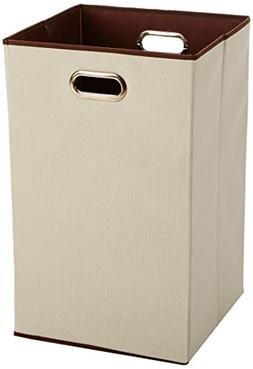 Foldable Laundry Hamper Portable Bin Canvas Compact Durable