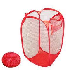 BonBon Foldable Pop Up Laundry Hamper Bag Basket Fine Mesh P