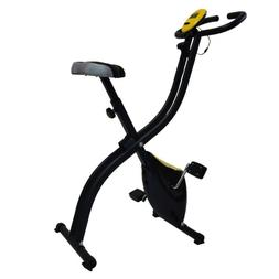 Folding Exercise Bike Homes Cycling Magnetic Trainer Fitness