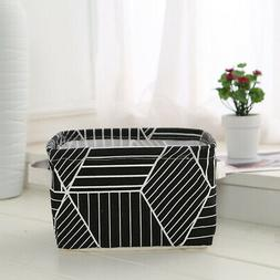 Folding Pastoral Storage Basket/Laundry Hamper/Clothing Bin/