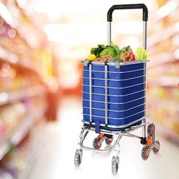 Extra Large Heavy Duty Shopping Carts Grocery Laundry Oversi