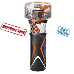 Hamper Hoops Basketball Laundry Bag Over Door Clean Room Clo
