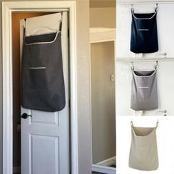 Hanging Laundry Bag Door Behind Washing Clothes Oxford Stora