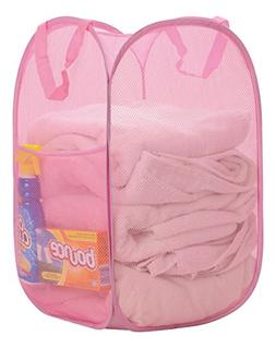 Premium Heavy-Duty Mesh Pop-Up Clothes Laundry Hamper - Home