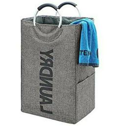 homest single laundry hamper with handle self