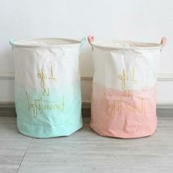 Household Foldable Organizer Bin Storage Bag Laundry Hamper