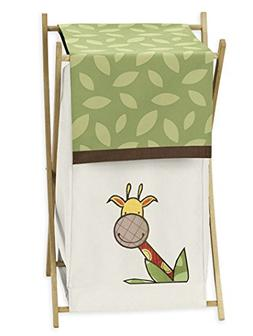 Jungle Time Baby/Kids Clothes Laundry Hamper for Sweet Jojo