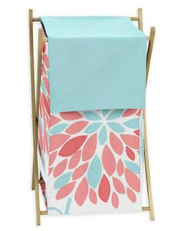 Kids Baby Clothes Laundry Hamper For Sweet Jojo Turquoise &