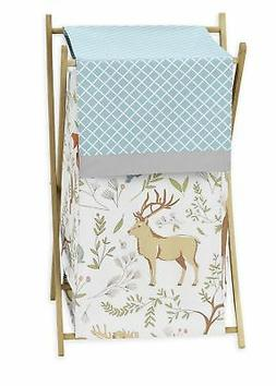 Sweet Jojo Kids Baby Clothes Laundry Hamper For Woodland Ani