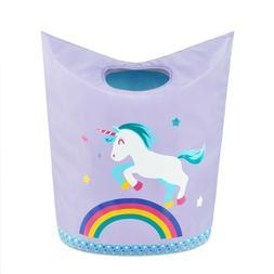 Kids Laundry Hamper Clothes Basket, Pop Up Bin for Baby, Nur