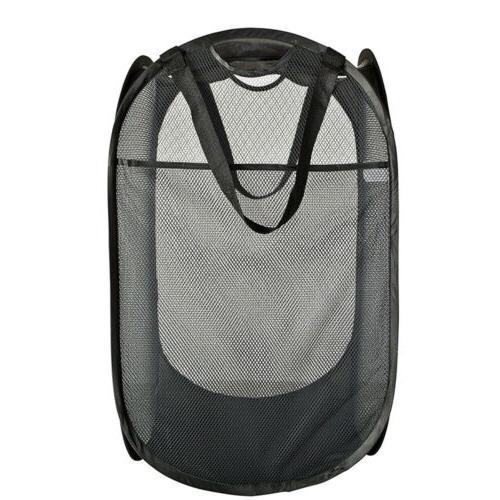 foldable portable washing clothes laundry basket bag