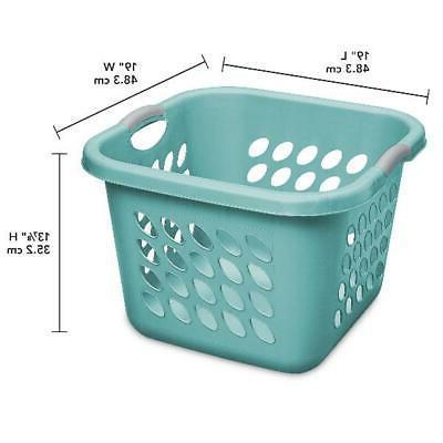 Sterilite 1.5 Square Laundry Basket Splash Case
