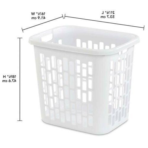 Sterilite Easy Bushel / 71 Plastic, White