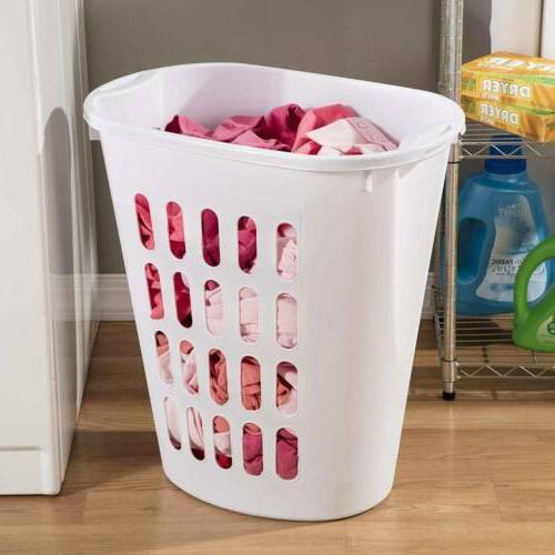 Sterilite 1256 Hamper Clothes Plastic