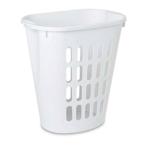 1256 open laundry hamper clothes basket plastic