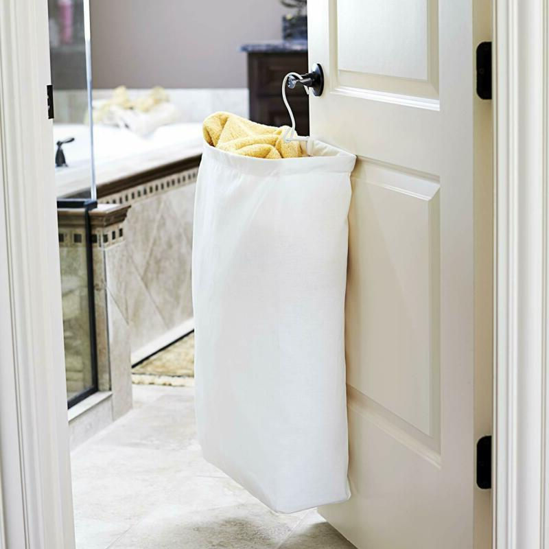 Household Essentials Hanging Cotton Bag