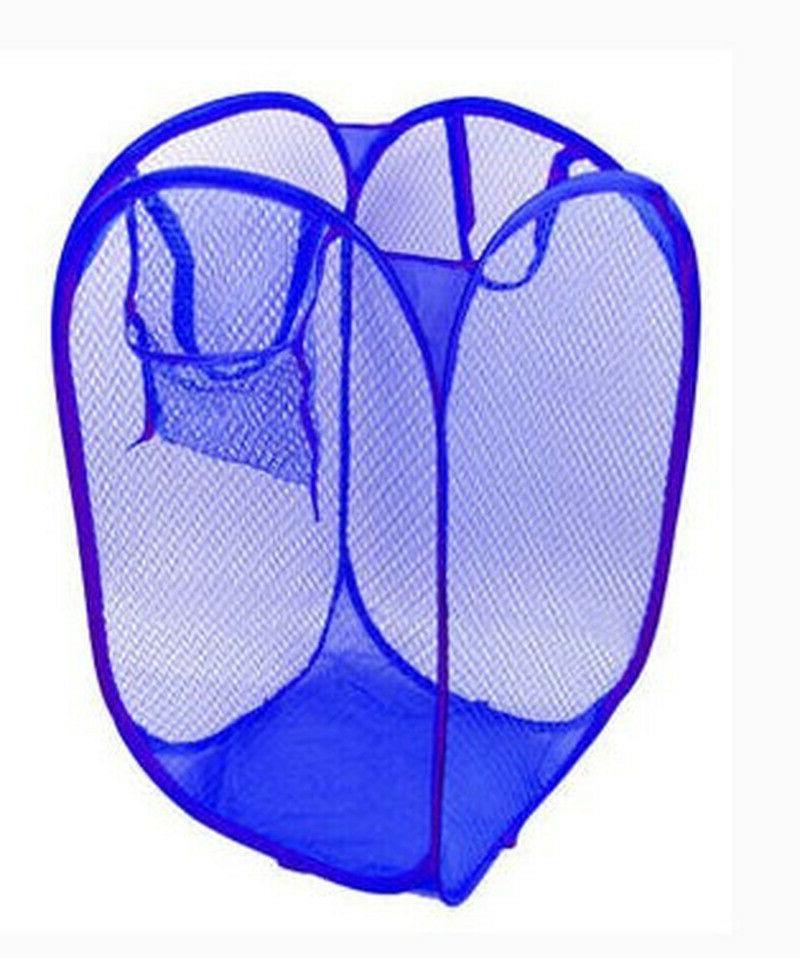 2PC Mesh Foldable Hamper