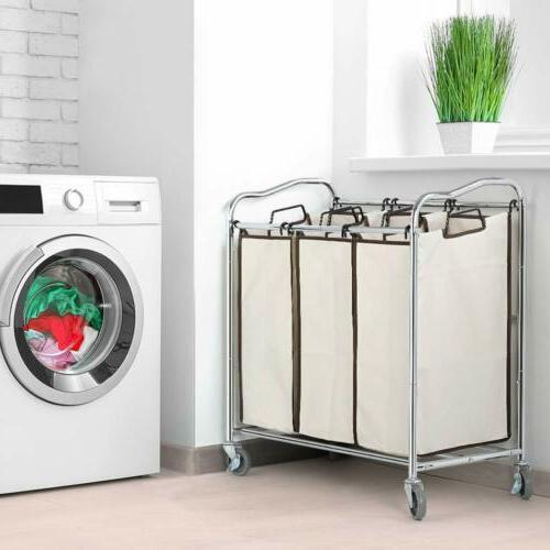 bathroom laundry hamper basket heavy duty 3