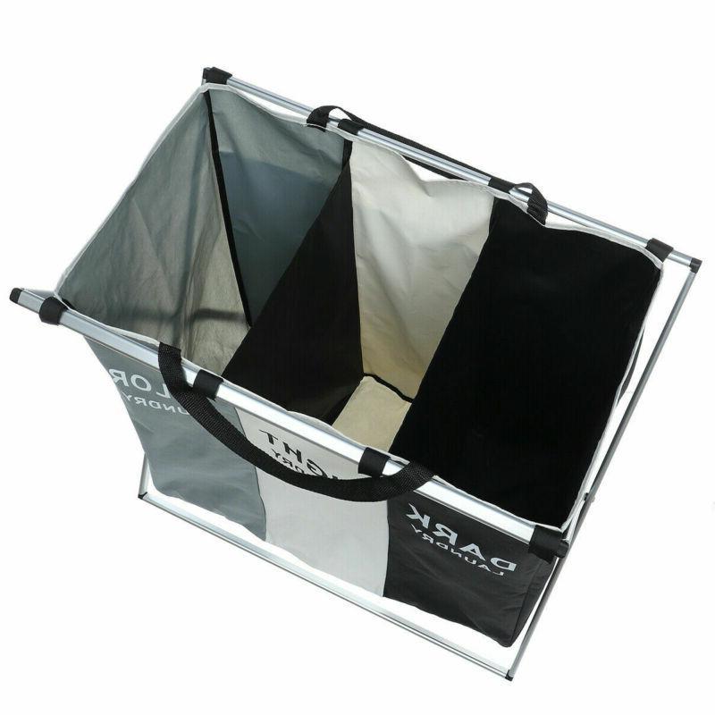 3 Foldable Basket Organizer Storage Laundry US