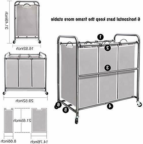 STORAGE Laundry Sorter, Laundry Hamper Heavy