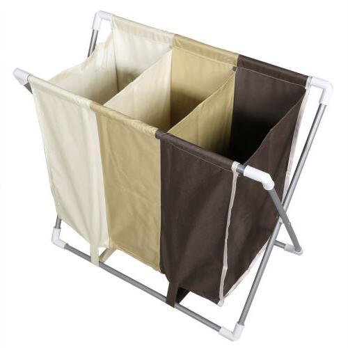 3 Hamper Laundry Wash Clothes Dirty Bag Bin