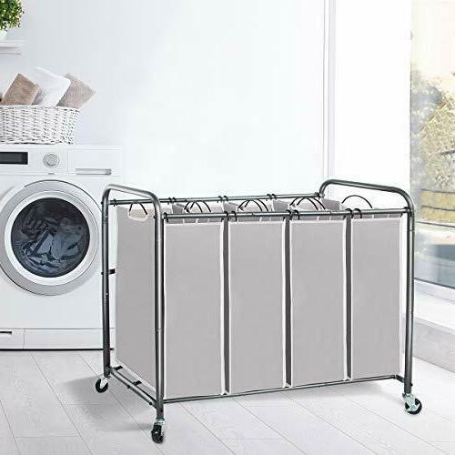 STORAGE Laundry 4 Laundry Cart Heavy Du