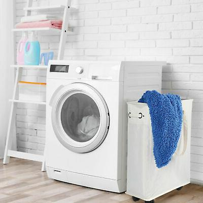 45L Laundry Hamper Collapsible Bag Washing Bin