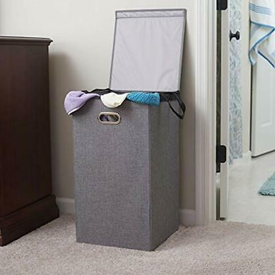 5620 Collapsible Hamper With Magnetic - Home Kitchen