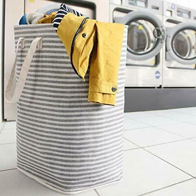 72L Freestanding Laundry Collapsible Clothes Basket with Easy
