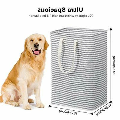 72L Freestanding Laundry Collapsible with