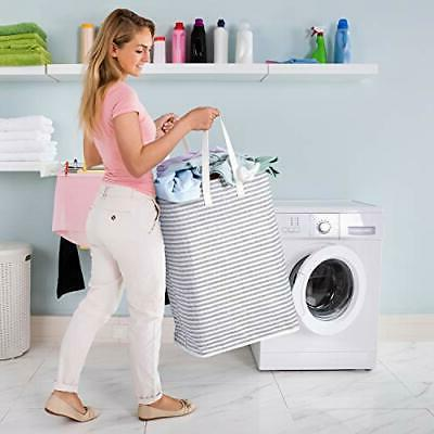 72L Freestanding Collapsible Basket with