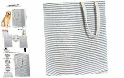 72l freestanding laundry hamper collapsible large clothes